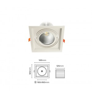 44W LED SPOT