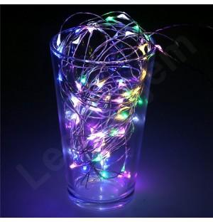 50 LEDLİ 5 METRE PERİ LED RGB